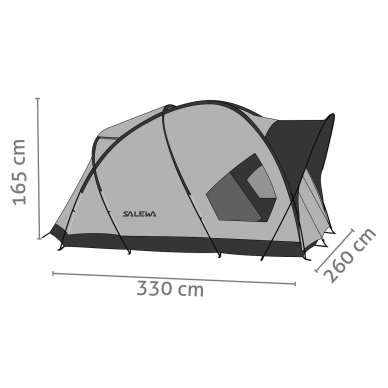 SALEWA Alpine Hut IV 2